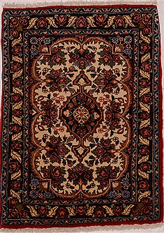 "Shahsavan Blue Hand Knotted 2'3"" X 3'1""  Area Rug 100-16287"