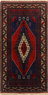 Pakistani Kazak Red Rectangle 6x9 ft Wool Carpet 16678