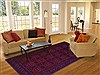 Khan Mohammadi Red Hand Knotted 68 X 97  Area Rug 250-16858 Thumb 4