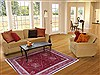 Gabbeh Orange Hand Knotted 55 X 74  Area Rug 250-16861 Thumb 5