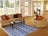 Gabbeh Grey Hand Knotted 411 X 69  Area Rug 250-16879 Thumb 5