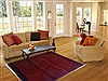 Gabbeh Orange Hand Knotted 52 X 70  Area Rug 250-16881 Thumb 5