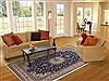 Nain Blue Hand Knotted 71 X 104  Area Rug 251-17304 Thumb 4