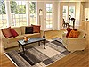 Gabbeh Grey Hand Knotted 62 X 92  Area Rug 250-17318 Thumb 4