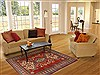 Kazak Red Hand Knotted 311 X 57  Area Rug 250-17379 Thumb 5