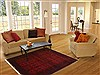 Turkman Red Hand Knotted 39 X 511  Area Rug 250-17396 Thumb 5