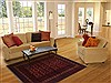 Khan Mohammadi Red Hand Knotted 37 X 60  Area Rug 250-17398 Thumb 5