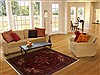 Serapi Red Hand Knotted 41 X 63  Area Rug 250-17665 Thumb 5