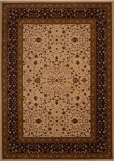 "Bakhtiar Beige Machine Made 7'11"" X 10'11""  Area Rug 100-18098"