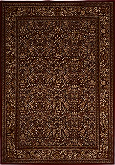 "Bidjar Red Machine Made 7'10"" X 11'2""  Area Rug 100-18101"