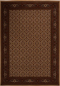 "Herati Red Machine Made 7'10"" X 11'2""  Area Rug 100-18104"