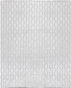 "Indian Indo-Nepal  Wool Grey Area Rug  (5'0"" x 8'0"") - 151 - 18723"