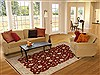 Chobi Red Hand Knotted 62 X 89  Area Rug 250-19067 Thumb 4