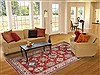 Kazak Red Hand Knotted 61 X 87  Area Rug 250-19101 Thumb 4