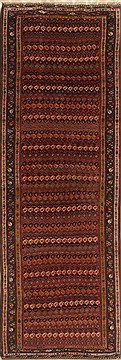 Persian Malayer Multicolor Runner 10 to 12 ft Wool Carpet 19217