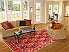 Bakhtiar Red Hand Knotted 70 X 100  Area Rug 100-19302 Thumb 4