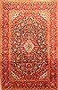 Kashan Red Hand Knotted 67 X 106  Area Rug 100-19318 Thumb 0