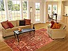 Heriz Red Hand Knotted 70 X 98  Area Rug 100-19621 Thumb 4