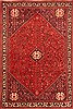 Abadeh Red Hand Knotted 69 X 910  Area Rug 100-19639 Thumb 0