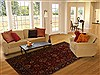 Sarouk Red Hand Knotted 511 X 88  Area Rug 250-19739 Thumb 4