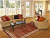 Sarouk Brown Hand Knotted 61 X 810  Area Rug 250-19758 Thumb 4