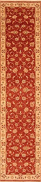 "Mahal Red Runner Hand Knotted 2'8"" X 11'4""  Area Rug 100-20012"
