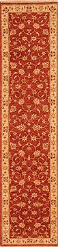"Mahal Red Runner Hand Knotted 2'8"" X 11'4""  Area Rug 100-20014"