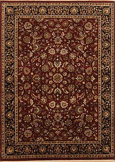 "Kashan Red Hand Knotted 16'9"" X 23'0""  Area Rug 250-20110"