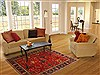 Heriz Red Hand Knotted 51 X 69  Area Rug 250-20465 Thumb 5