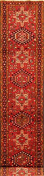 Persian Karajeh Red Runner 10 to 12 ft Wool Carpet 20531