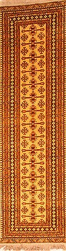 "Mahal Red Runner Hand Knotted 3'0"" X 10'8""  Area Rug 100-20644"