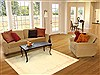 Gabbeh Beige Hand Knotted 50 X 68  Area Rug 250-20692 Thumb 5