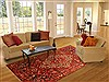 Bakhtiar Red Hand Knotted 610 X 911  Area Rug 100-20722 Thumb 4