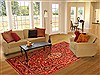 Bakhtiar Red Hand Knotted 611 X 105  Area Rug 100-20737 Thumb 4