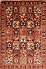 Bakhtiar Multicolor Hand Knotted 611 X 100  Area Rug 100-20777 Thumb 0