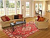 Bakhtiar Red Hand Knotted 610 X 911  Area Rug 100-20804 Thumb 4