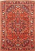 Bakhtiar Red Hand Knotted 70 X 102  Area Rug 100-20806 Thumb 0