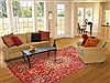 Bakhtiar Red Hand Knotted 611 X 98  Area Rug 100-20854 Thumb 4