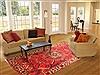 Bakhtiar Red Hand Knotted 69 X 911  Area Rug 100-20879 Thumb 4