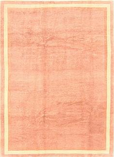 "Nepal Tibetan  Wool Beige Area Rug  (6'8"" x 9'0"") - 253 - 20955"