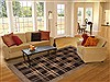 Gabbeh Black Hand Knotted 69 X 99  Area Rug 250-20992 Thumb 4