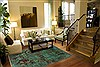 Patchwork Green Hand Knotted 80 X 102  Area Rug 250-20994 Thumb 3