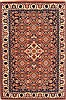 "Romania Tabriz  Wool Yellow Area Rug  (2'9"" x 4'2"") - 253 - 21109"