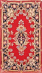 "Persian Abadeh  Wool Red Area Rug  (2'0"" x 3'7"") - 253 - 21117"