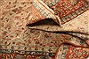 Isfahan Beige Hand Knotted 81 X 122  Area Rug 100-21200 Thumb 5