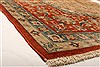 Isfahan Beige Hand Knotted 81 X 122  Area Rug 100-21200 Thumb 2