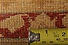 Agra Yellow Hand Knotted 91 X 125  Area Rug 100-21272 Thumb 25
