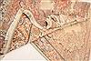 Kerman Beige Hand Knotted 84 X 101  Area Rug 100-21367 Thumb 15