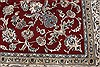 Nain Red Hand Knotted 910 X 130  Area Rug 250-21391 Thumb 18