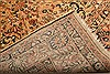 Sarouk Beige Hand Knotted 83 X 103  Area Rug 100-21420 Thumb 24